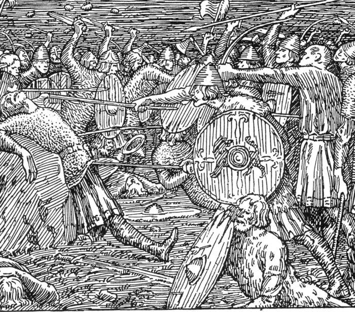 Kong Olavs fall | Slaget på Stiklestad